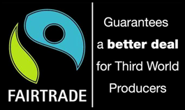 Look for this symbol for Fair Trade products